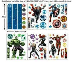 avengers muurstickers room decor kit