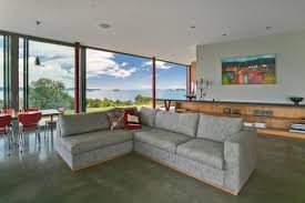 New Design For Living Room Living Room Design At Summer Cottage In Matakana New Zealand