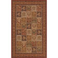 momeni persian garden multi 2 ft x 3 ft indoor area rug
