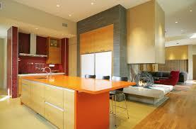 colorful kitchen ideas. Modren Kitchen Kitchen Color Ideas Red Orange To Colorful Kitchen Ideas