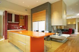 kitchen color ideas red orange