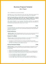 Proposal Templates Free Construction Work Proposal Template