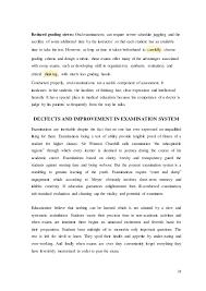 examination system in  31
