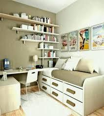 small office idea. Bedroom Natural Small Office Ideas With Creative Book Storage Design Idea