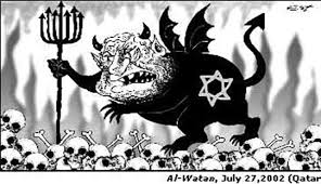 Image result for jewish caricatures in Islamic thought