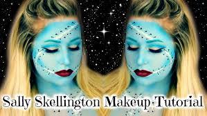 sally skellington makeup tutorial nightmare before you