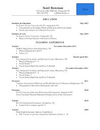 Cover Letter Resume Education Template Higher Education Resume