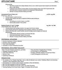 professional affiliations resume best resume example