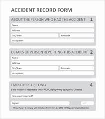 Sample Police Report Template Inspirational Incident Report Form