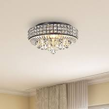 best 25 flush mount chandelier ideas on star ceiling intended for incredible household ceiling mount chandelier plan