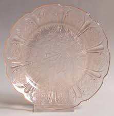 Pink Depression Glass Patterns Interesting 48piece Child's Dinnerware Set In Cherry BlossomPink By Jeanette