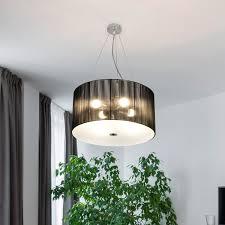 Stoff Deckenleuchte Pendelleuchte Hängeleuchte Wohnzimmer Esszimmer