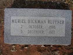 Muriel Hickman Ruffner (1893-1977) - Find A Grave Memorial