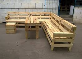 l shaped wooden garden furniture awesome diy pallet patio or outdoor furniture set 101 pallets