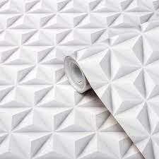 3d Wallpaper White