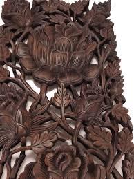 roses reclaimed teak wood carving wall art on teak wall art australia with roses reclaimed teak wood carving wall art akha
