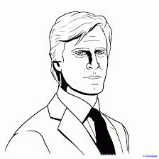 How To Draw Harvey Dent Harvey