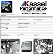 e46 non m s54 wiring modifcations kassel performance e46 non m wiring diagram s54 swap