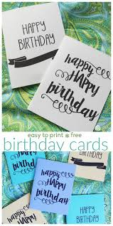 Free Printable Anniversary Cards For Her Stunning Printable Birthday Cards Today's Creative Life