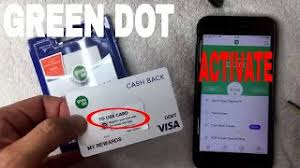 how to activate green dot prepaid visa