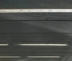stretch metal ceiling tiles by hunter douglas