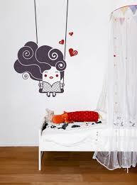Small Picture Red Circle Shapes Design A Wall Decal Minimalist Luxurious