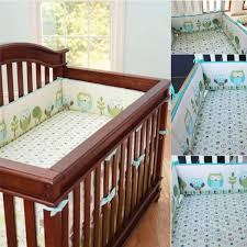 4Pcs Cute Owl Baby Infant Cot Crib Bumper Safety Protector Toddler Nursery Bedding  Set Cushion Pad Baby Care Supplies Colorful-in Gates & Doorways from ...