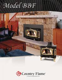 country flame b indoor fireplace user manual