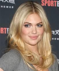 Casual Hairstyles 78 Wonderful Kate Upton Long Straight Casual Hairstyle Medium Blonde Honey