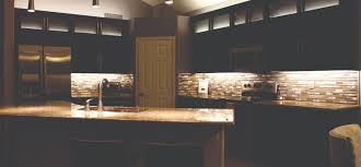 upper cabinet lighting. Upper Glass Cabinets Lighted Makes For An Unusual Look And Contrast In The Kitchen. Cabinet Lighting I