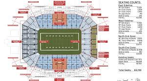 Seating Chart For Florida Citrus Bowl Stadium Orlando City