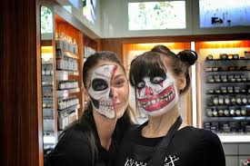 the scary staff at charles fox makeup on covent garden