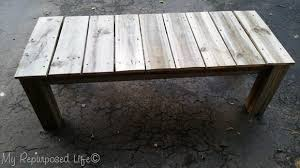 reclaimed wood coffee table my
