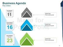 Business Agenda Editable Powerpoint Template Throughout Bni 10
