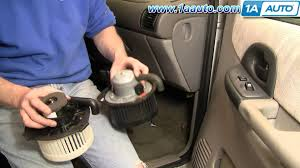 how to install replace heat a c fan or blower motor chevy venture For Home Ac Blower Motor Wiring Diagram Free Download how to install replace heat a c fan or blower motor chevy venture pontiac montana 97 05 1aauto com youtube