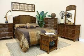 Polynesian Wicker Bedroom Furniture 710 by Hospitality Rattan