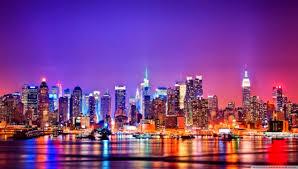 New York City Skyline At Night ❤ 4k Hd ...