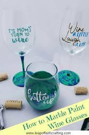 diy personalized wine glasses pin