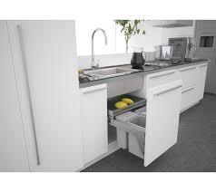 under kitchen sink cabinet. Sige Under Sink Kitchen Waste Bin 600mm Cabinets Door Fix Cabinet T
