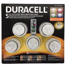 Capstone Lighting Remote Change Battery Duracell 5 Led Puck Lights With Directional Base Remote