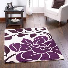 sasha plum fl wool rug by rug guru 1