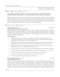 Sample Hr Resumes Experience Human Resources Resume Examples Breathelight Co