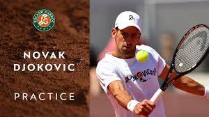 Itv hub (uk) / 9now (aus). Novak Djokovic Practice I Roland Garros 2021 Youtube