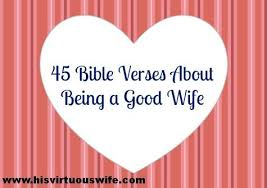 Images Bible Verses About Good Wife