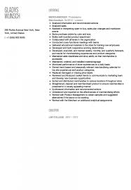 Landman Resume Example Template Retail Best And Cv Inspiration