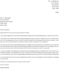 System Analyst Cover Letter Computer Systems Analyst Cover Letter Example Icover Org Uk