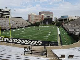 Vanderbilt Football Stadium Virtual Seating Chart Vanderbilt Stadium View From Section N Vivid Seats