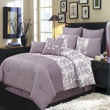 lavender comforter sets queen bedding modern touch all 7