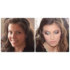 makeover after 6 hours long makeup artist session