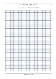 Two Line Graph Paper With 1 Cm Major Lines And 0 25 Cm Minor Lines